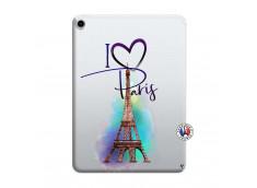 Coque iPad PRO 2018 11 Pouces I Love Paris