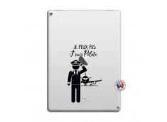 Coque iPad PRO 12.9 Je peux pas j'suis pilote
