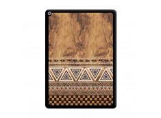 Coque iPad PRO 12.9 Aztec Deco Noir