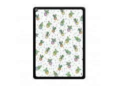 Coque iPad PRO 12.9 Le Monde Entier est un Cactus Noir