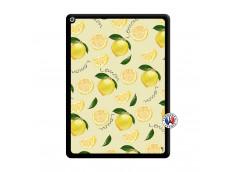 Coque iPad PRO 12.9 Sorbet Citron Noir