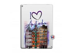 Coque iPad PRO 12.9 I Love Amsterdam