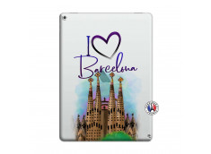 Coque iPad PRO 12.9 I Love Barcelona