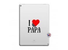 Coque iPad PRO 12.9 I Love Papa