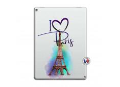 Coque iPad PRO 12.9 I Love Paris