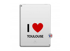Coque iPad PRO 12.9 I Love Toulouse