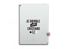 Coque iPad PRO 12.9 Je Dribble Comme Cristiano