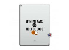Coque iPad PRO 12.9 Je m'en bats Les Noix De Coco