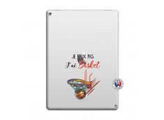 Coque iPad PRO 12.9 Je Peux Pas J Ai Basket