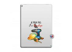 Coque iPad PRO 12.9 Je Peux Pas J Ai Bricolage