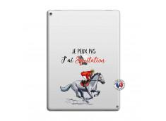 Coque iPad PRO 12.9 Je Peux Pas J Ai Equitation