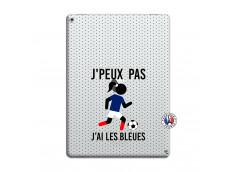 Coque iPad PRO 12.9 Je Peux Pas J Ai Les Bleues Maillot