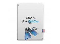 Coque iPad PRO 12.9 Je Peux Pas J Ai Natation