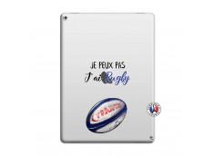 Coque iPad PRO 12.9 Je Peux Pas J Ai Rugby