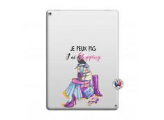 Coque iPad PRO 12.9 Je Peux Pas J Ai Shopping