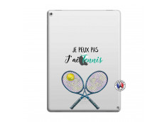 Coque iPad PRO 12.9 Je Peux Pas J Ai Tennis