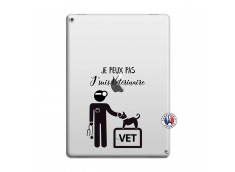 Coque iPad PRO 12.9 Je Peux Pas Je Suis Veterinaire