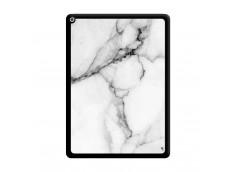 Coque iPad PRO 12.9 White Marble Noir
