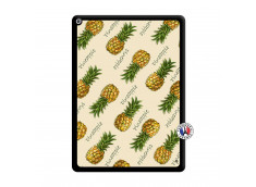 Coque iPad PRO 12.9 Sorbet Ananas Noir
