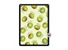Coque iPad PRO 12.9 Sorbet Kiwi Noir