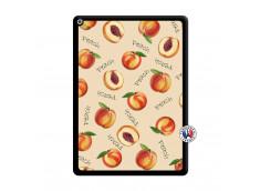 Coque iPad PRO 12.9 Sorbet Pêche Noir