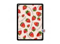 Coque iPad PRO 12.9 Sorbet Fraise Noir