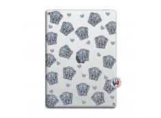 Coque iPad PRO 12.9 Petits Elephants