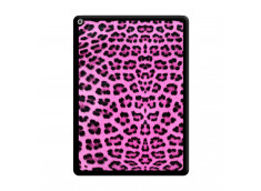 Coque iPad PRO 12.9 Pink Leopard Noir