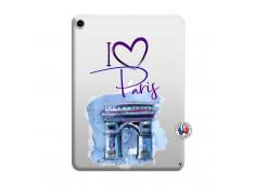 Coque iPad PRO 2018 11 Pouces I Love Paris, i love Arc de Triomphe