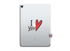 Coque iPad PRO 2018 11 Pouces I Love You