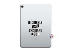 Coque iPad PRO 2018 11 Pouces Je Dribble Comme Cristiano