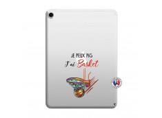 Coque iPad PRO 2018 11 Pouces Je Peux Pas J Ai Basket