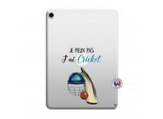 Coque iPad PRO 2018 11 Pouces Je peux pas j'ai cricket