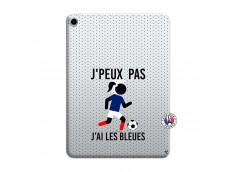 Coque iPad PRO 2018 11 Pouces Je Peux Pas J Ai Les Bleues Maillot