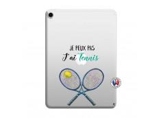 Coque iPad PRO 2018 11 Pouces Je Peux Pas J Ai Tennis