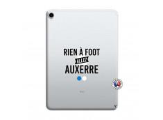 Coque iPad PRO 2018 11 Pouces Rien A Foot Allez Auxerre