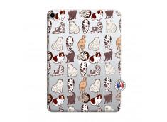 Coque iPad PRO 2018 12.9 Pouces Cat Pattern