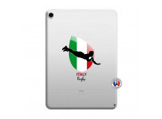 Coque iPad PRO 2018 12.9 Pouces Coupe du Monde Rugby-Italy