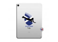 Coque iPad PRO 2018 12.9 Pouces Coupe du Monde Rugby-Scotland