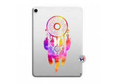 Coque iPad PRO 2018 12.9 Pouces Dreamcatcher Rainbow Feathers
