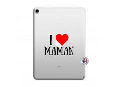 Coque iPad PRO 2018 12.9 Pouces I Love Maman