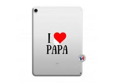 Coque iPad PRO 2018 12.9 Pouces I Love Papa