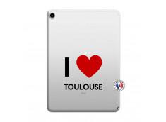 Coque iPad PRO 2018 12.9 Pouces I Love Toulouse