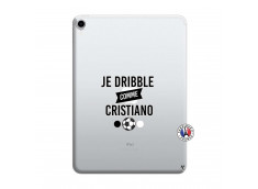 Coque iPad PRO 2018 12.9 Pouces Je Dribble Comme Cristiano