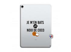 Coque iPad PRO 2018 12.9 Pouces Je m'en bats Les Noix De Coco