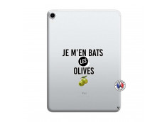 Coque iPad PRO 2018 12.9 Pouces Je M En Bas Les Olives