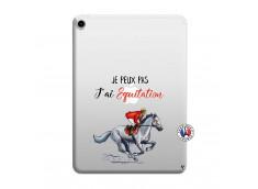 Coque iPad PRO 2018 12.9 Pouces Je Peux Pas J Ai Equitation