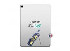 Coque iPad PRO 2018 12.9 Pouces Je Peux Pas J Ai Golf
