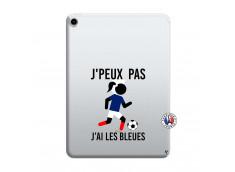 Coque iPad PRO 2018 12.9 Pouces Je Peux Pas J Ai Les Bleues