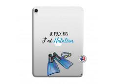 Coque iPad PRO 2018 12.9 Pouces Je Peux Pas J Ai Natation